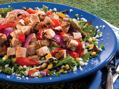 Chicken-Fajita-Salad